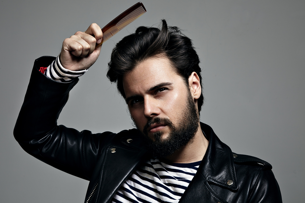 coiffure rétro homme