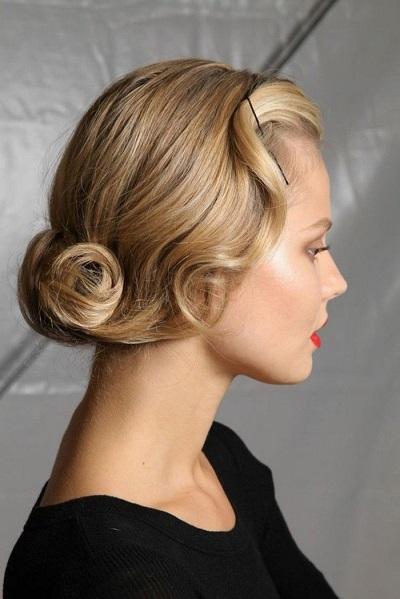 coiffure style retro