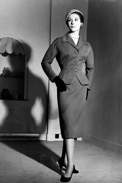 jupe crayon années 50