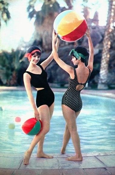 mode maillot de bain années 60