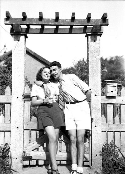 short femme années 30